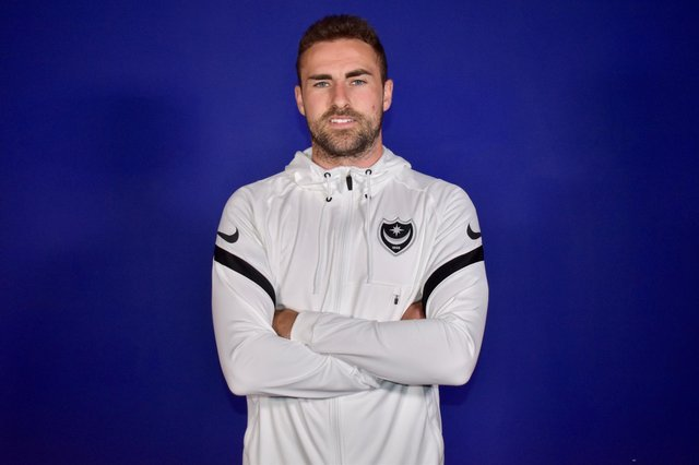 Pompey new boy Clark Robertson (picture: Portsmouth FC)
