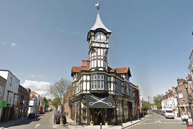 Tony Wood Hair was really popular with readers. It's in Castle Road, Southsea - and is based in a stunning clocktower!