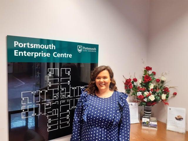 Ebony Spurge, an apprentice at Portsmouth City Council