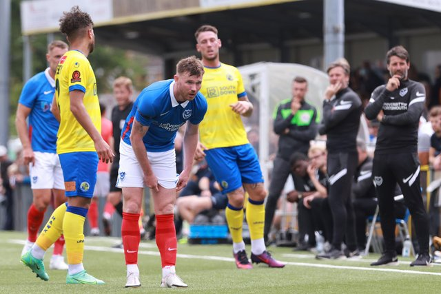 The Hawks represented Pompey's second pre-season friendly. Now the following fixture with Crystal Palace has been scrapped. Picture: Paul Collins