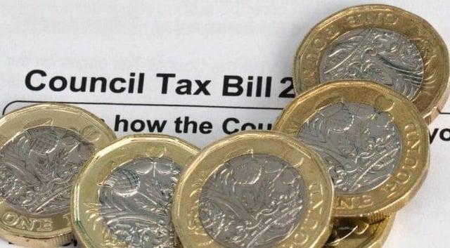 Miss Robinson faced council tax arrears