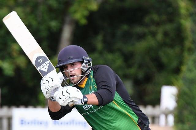 Hilio De Abreu hit 50 as Burridge defeated Fair Oak in the Southern Premier League's T20 Cup. Picture: Neil Marshall