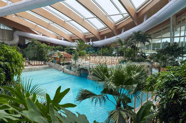 This is what a stay at the Centre Parcs could look like. Picture: Centre Parcs