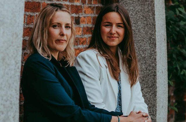 Sarah Roads and Anna Smith, co-founders of The Middle Group, a new recruitment business in Portsmouth