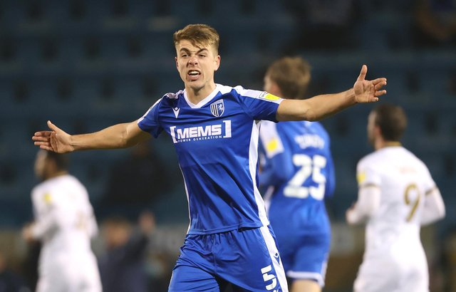 Pompey are reportedly interested in Gillingham defender Jack Tucker.  Picture: James Chance/Getty Images