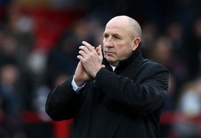 Accrington boss John Coleman. Picture: Jan Kruger/Getty Images