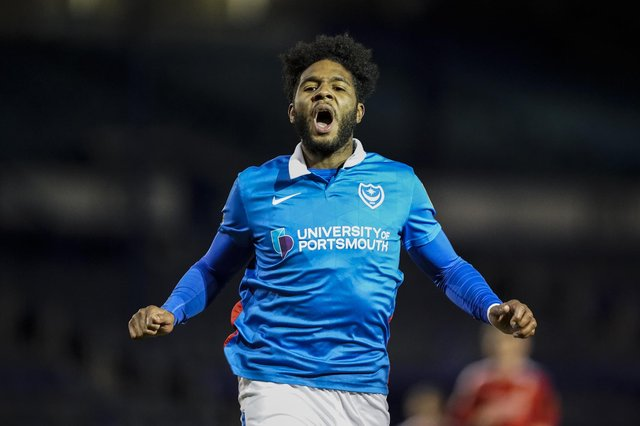 Ellis Harrison's prospective switch to Oxford United may now be off after Jayden Stockley's move to Pompey collapsed. Picture: Jason Brown/ProSportsImages