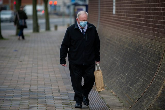 Former choirmaster Mark Burgess, 68, of St Chad's Avenue, Hilsea, is on trial at Portsmouth Crown Court accused of 52 child sex offences on 16 March 2021