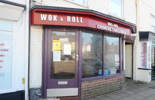 Wok & Roll Chinese takeaway in Wickham Square, Wickham.Picture: Sarah Standing (230221-3742)