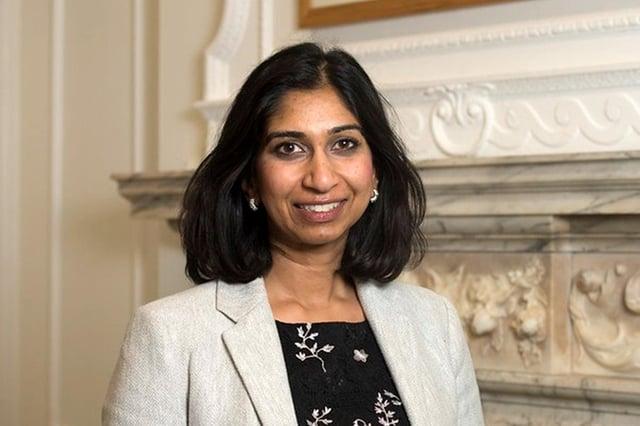 Suella Braverman, Fareham MP.