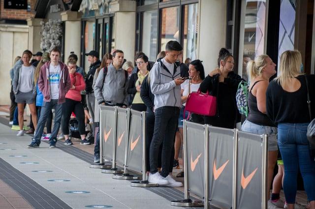 Nike store,  Gunwharf Quays. Picture: Habibur Rahman