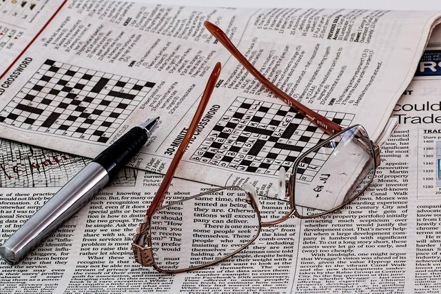 Anyone for a crossword?