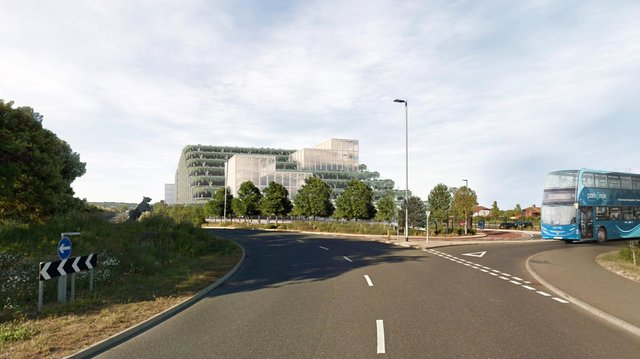 How the park and ride in Portsmouth could look. Picture: Portsmouth City Council