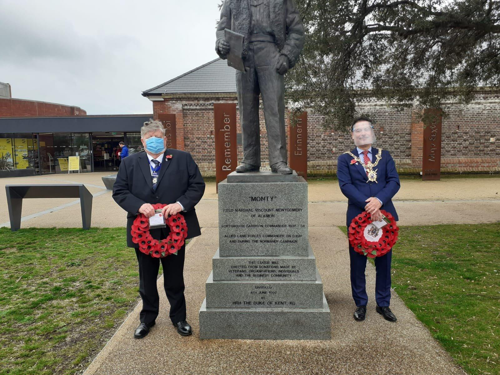 Lord Mayor of Portsmouth remembers pivotal moment in direction of World War Two