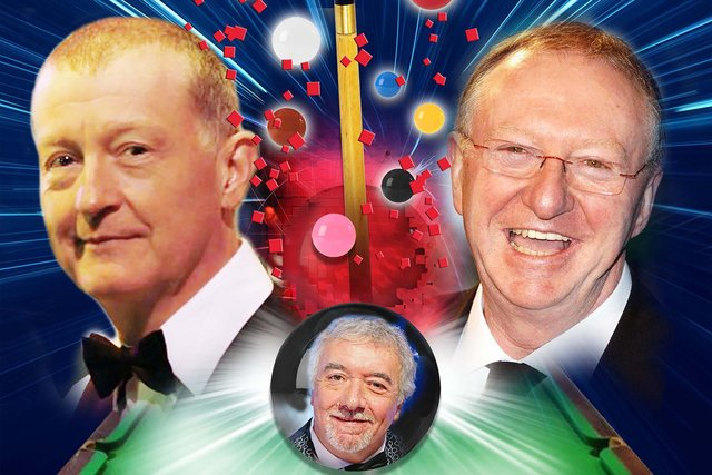 An Evening With Snooker Greats featuring Steve Davis, Dennis Taylor and John Virgo is at New Theatre Royal, Portsmouth on October 11, 2021