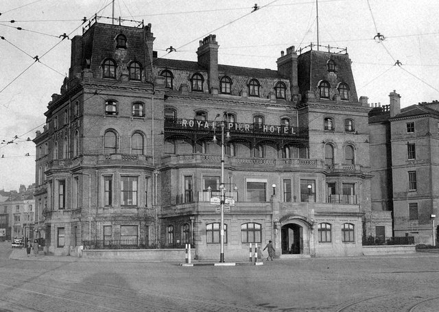 The Royal Pier Hotel, Southsea, between the wars