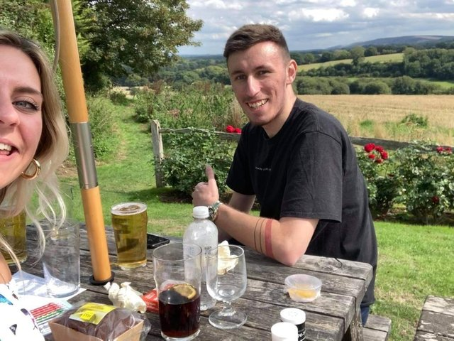 Bradley Coombes, who died from bowel cancer in February 2021