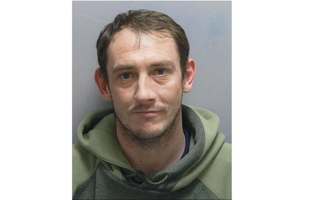 David Reilly has been jailed for his part in the robbery of Paulsgrove's Danny Mart last year. Photo: Hampshire Constabulary