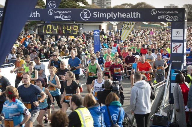 Great South Run 2019 on Sunday. Picture: Peter Langdown