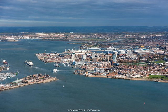 Portsmouth. Picture: Shaun Roster