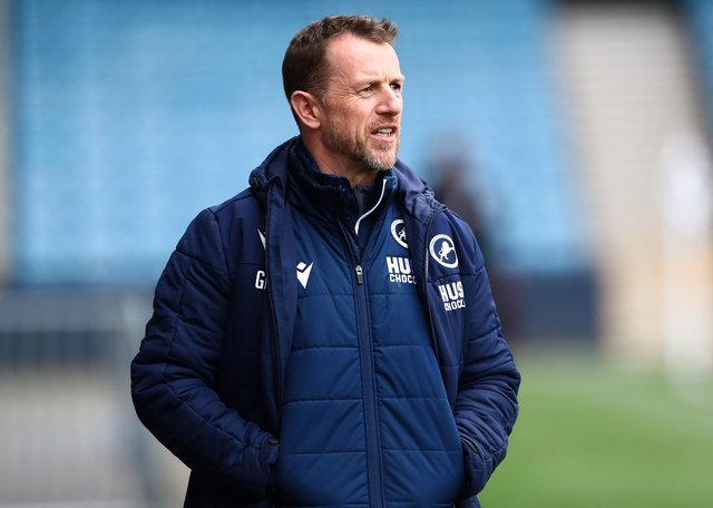 Millwall boss Gary Rowett. Picture: Jacques Feeney/Getty Images