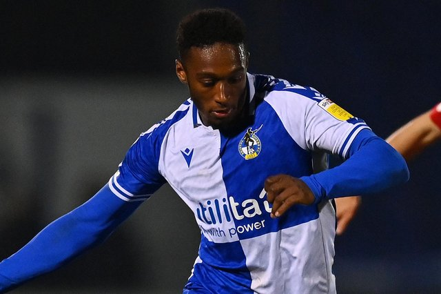 Brandon Hanlan was a target for Pompey last summer before he joined Bristol Rovers. Picture: Dan Mullan/Getty Images