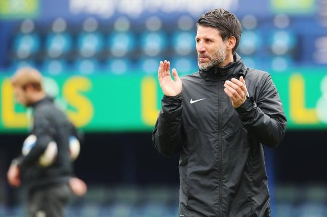Danny Cowley takes his Pompey side to Shrewsbury tomorrow.