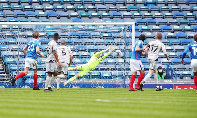 Pompey fell to defeat to Burton today