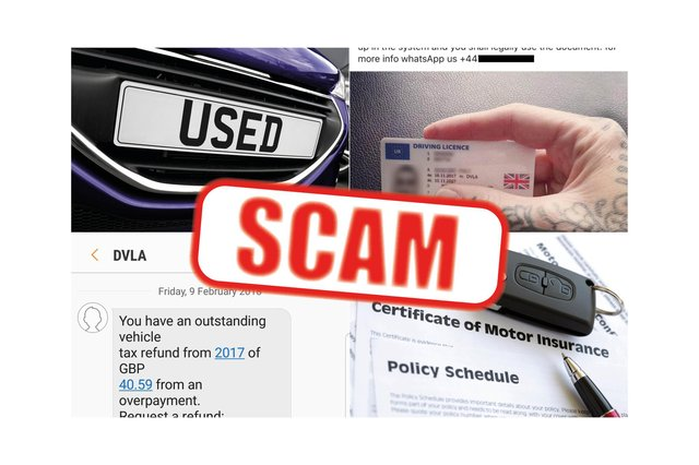 Online scams can cost drivers thousands of pounds