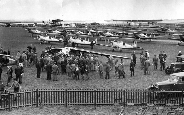 The opening of Portsmouth Airport, July 2, 1932 PP4378