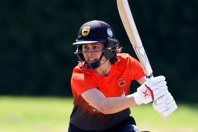 Maia Bouchier starred for the Southern Vipers in their Charlotte Edwards Cup win against the South East stars at Beckenham. Photo by James Chance/Getty Images.