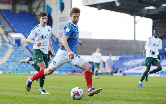 Michael Jacobs returns to Pompey's squad for tonight's visit of Sunderland. Picture: Joe Pepler