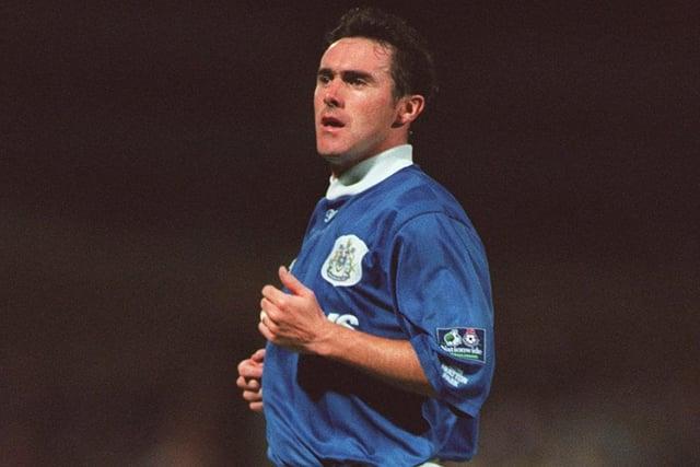 Alan McLoughlin during his Pompey playing days.