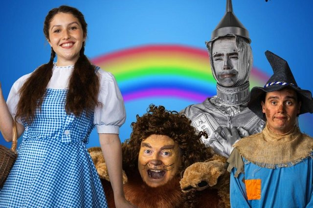 The cast of The Wizard of Oz, by Titchfield Festival Theatre, from June 16-26, 2021. Picture by Ross Underwood