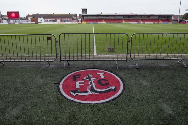 Fleetwood have been hit by a transfer embargo. Picture: Daniel Chesterton