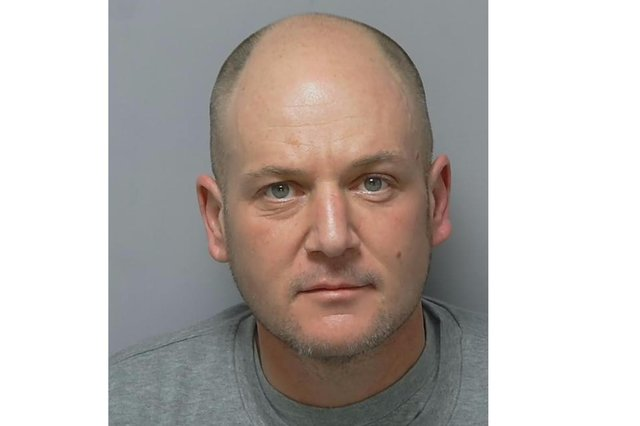 Gary Travers was put behind bars for the attempted murder of his former lover Dr Georgina Ingall. Picture: Hampshire Constabulary