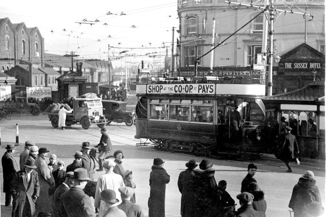 Portsmouth trolleybus