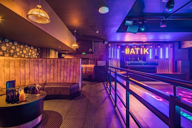 Atik is opening in Portsmouth. Pictured: An existing Atik club in Tamworth - what the Portsmouth club could potentially look like.