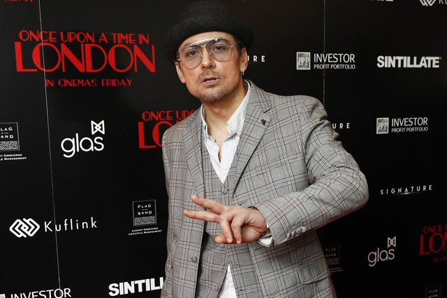 Paul Danan attends the Once Upon A Time in London world premiere at Troxy on April 15, 2019 in London. Picture:John Phillips/Getty Images
