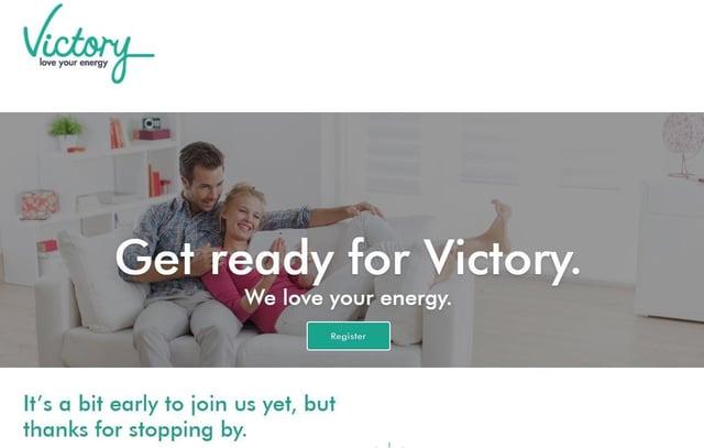 Victory Energy's website