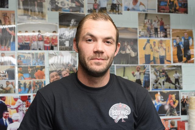 Army veteran Warren Avery joined Boxing for the Brain at the Heart of Portsmouth boxing club, which he said has helped him transform his life.  Picture: Keith Woodland (120420-216)