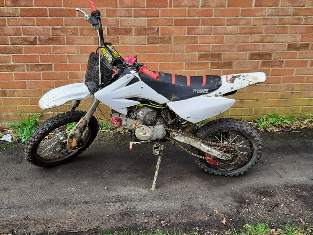 One of the bikes seized by officers. Picture: Havant Police Facebook