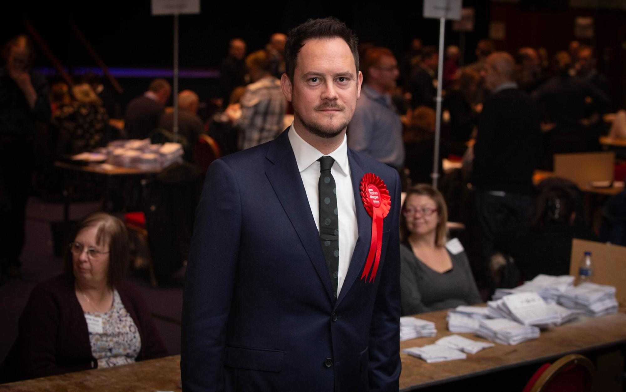 Labour candidate marches off stage in silence after Hartlepool by-election loss