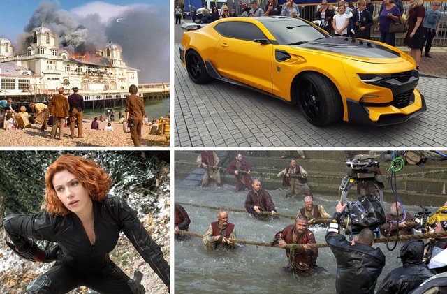 Highest grossing movies filmed in Hampshire.