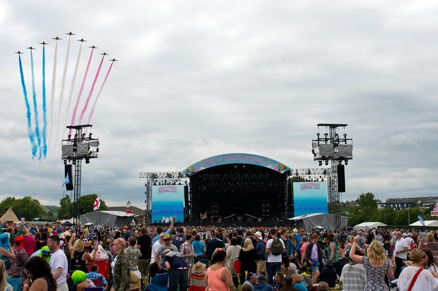 The Isle of Wight Festival. (Pic: Getty Images)