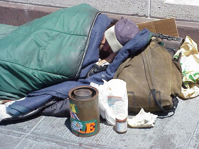 The life expectancy for a homeless person is only 47.