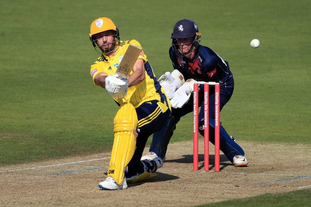 James Vince will partner D'Arcy Short at the top of the order in this year's T20 Blast. Picture: Adam Davy/PA Wire.