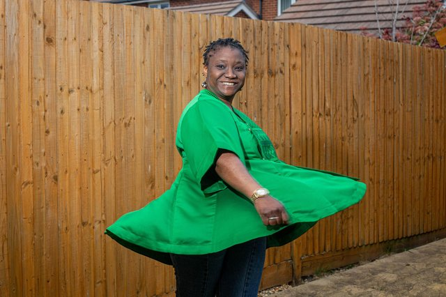 Yemisi Olaiya is the founder ofSemande,a Portsmouth-based fashion brand rooted in African culture and heritage. Picture: Habibur Rahman