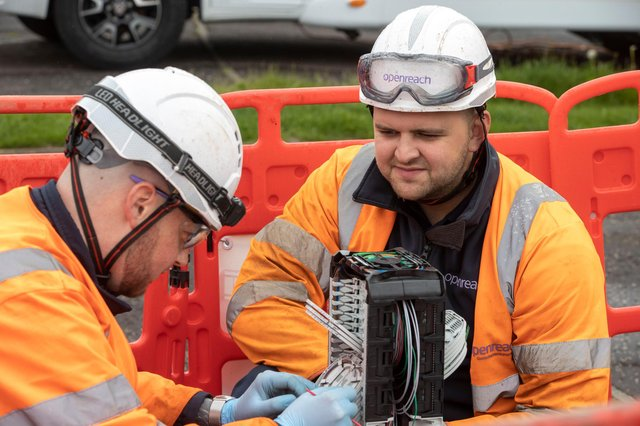 Openreach is rolling out super-fast broadband to homes across Fareham and Gosport. Picture: Openreach